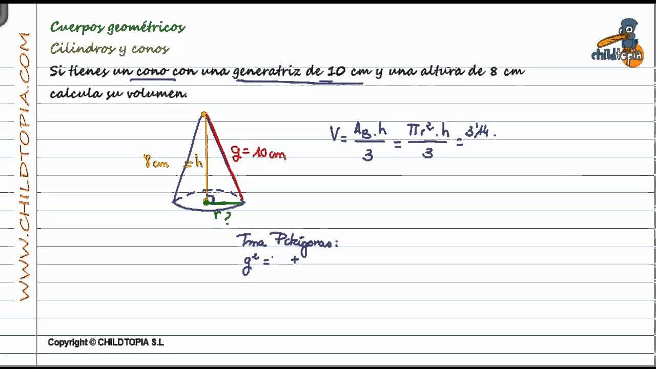 Cuerpos Geométricos: Cilindros y conos