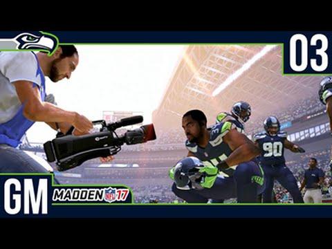 Madden NFL 17 Owner Mode (Seattle Seahawks) [Deutsch/60FPS] #03 Krasse Defense