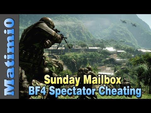 BF4 Spectator Cheating & Throwing Spare Ammo - Sunday Mailbox