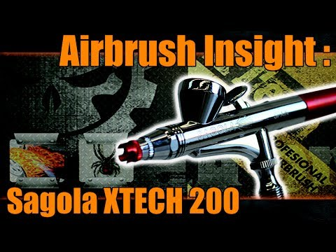 Airbrush Insight : Sagola XTECH 200