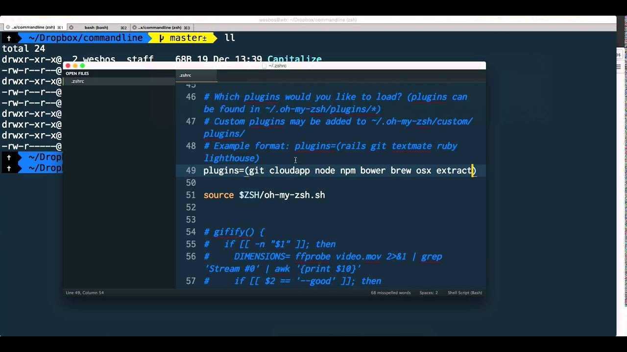 Getting the most out of ZSH with Plugins - Command Line Power User (9/11)