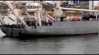 Блокировка украинских кораблей в бухте Стрелецкая (Севастополь)