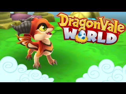 Wildfire Dragons & Fiery Sands!! 🐲 DragonVale World - Episode #2
