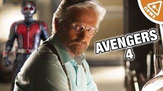 Did Michael Douglas Just Spill Avengers 4 Secrets? (Nerdist News w/ Jessica Chobot)