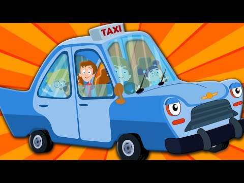 the wheels on the taxi nursery rhymes kids songs baby videos kids tv S02 EP0171