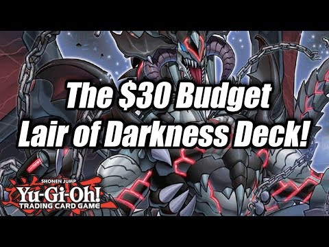 Yu-Gi-Oh! The $30 Budget Lair of Darkness Deck Profile!