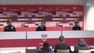 vfb stuttgart ii chemnitzer fc pressekonferenz nach der partie 29 spieltag 15 16