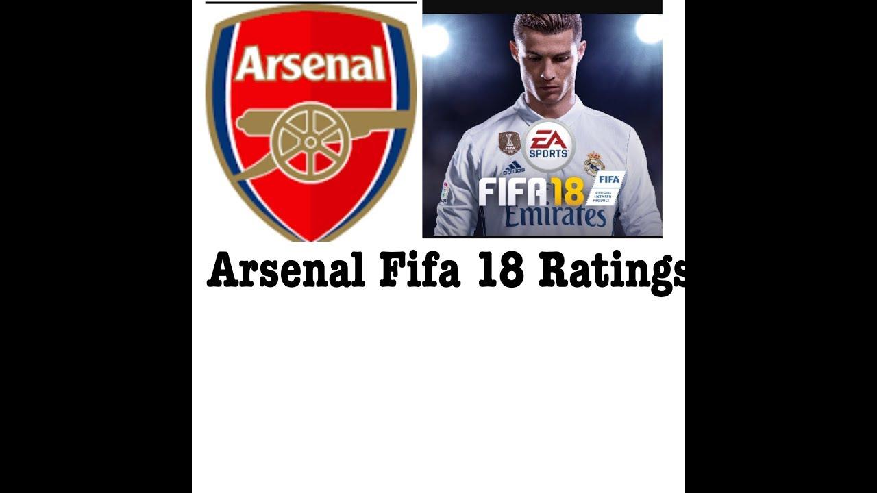 Fifa 18 Ratings