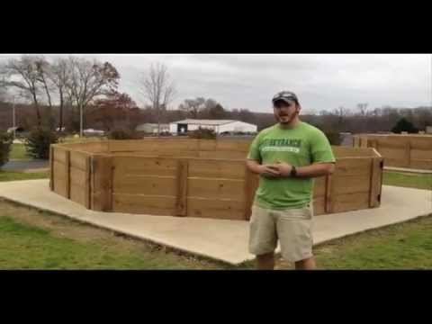 Gaga Pit: Building and Playing - YouTube