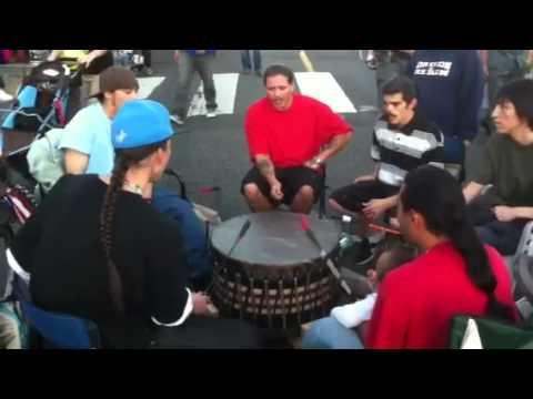 Indian war drum
