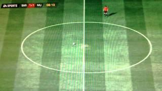 Gra w FIFA 2012 bez zawodników !! Gameplay PC