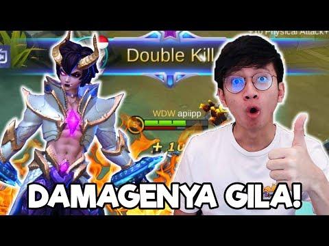 NEW HERO DYROTH PAKE ITEM BARU DAMAGENYA GILA BANGET ! - MOBILE LEGENDS INDONESIA
