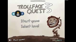 ESTE JUEGO ES DE OTRO MUNDO, PERO QUE SUCEDE!!!!/TROLLFACE QUEST 3 /SACROSS GAMER