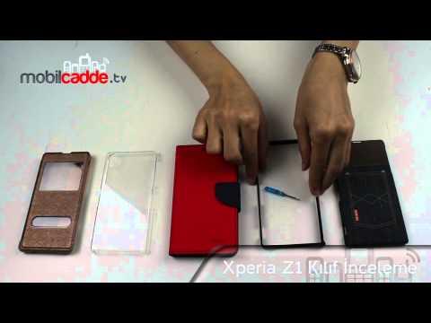 Sony Xperia Z1 Kılıf İnceleme