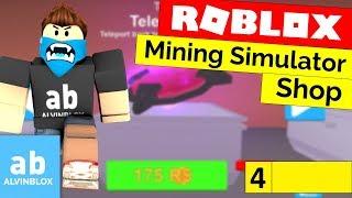 Roblox Mining Simulator Shop tutorial-[parte 4]