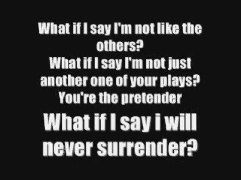 Pretender Foo Fighters