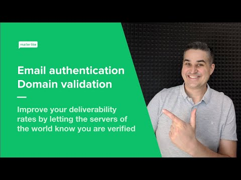 Email verification and domain authentication