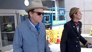 John C. Reilly Looking Sharp At LAX