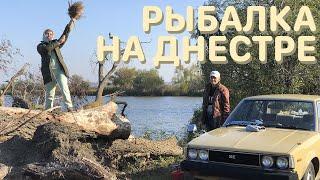 Рыбалка на реке Днестр Очень красивые виды