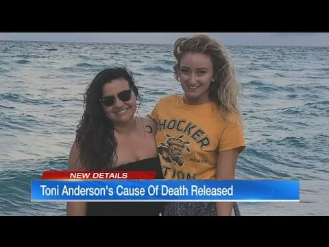 Examiner: Toni Anderson's death accidental, drugs involved