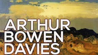 Arthur Bowen Davies: A collection of 87 works (HD)