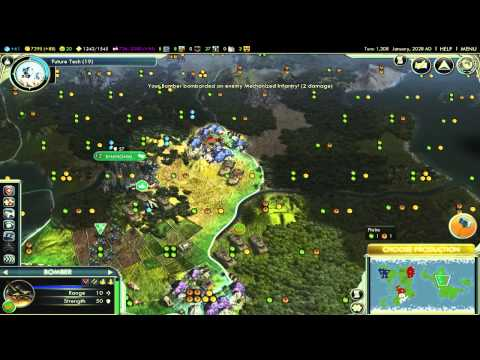 Civilization 5 lets play with atomic ep 3