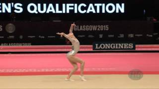 MAO Yi (CHN) - 2015 Artistic Worlds - Qualifications Floor Exercise