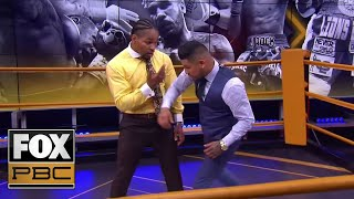 Shawn Porter, Abner Mares demo: Jarrett Hurd and Julian Williams | INSIDE PBC BOXING