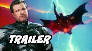 Justice League Batman Trailer and The Flash Arrow Batman Explained