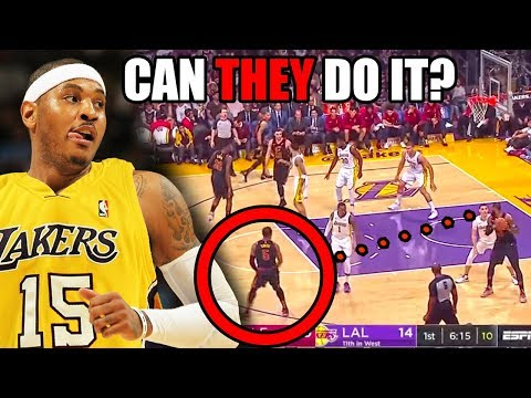 Why Carmelo Anthony & JR Smith Can HELP The Lakers After The Anthony Davis Trade (Ft. NBA & LeBron)