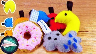Sewing with Felt  Keychain DIYs   Sewing By Hand   Sewing for Beginners