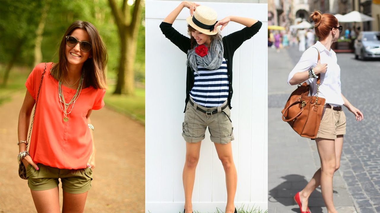 Ladies cargo shorts - 20 Style Tips On How To Wear Cargo Shorts ...