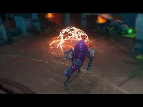 видео: battlerite — трейлер чемпиона ezmo