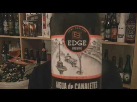 Edge Brewing - Aigua de Canaletes (American Blonde Ale) - HopZine Beer Review