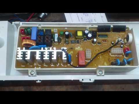 """Ремонт модуля стиральной машины """"Samsung"""" WF-R862. Не включается."""
