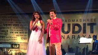 Famous song bin tere sanam livw by vaishali made and padmshri udit narayan she her bollywood singing debut hum tum in the movie call dama dum. rece...