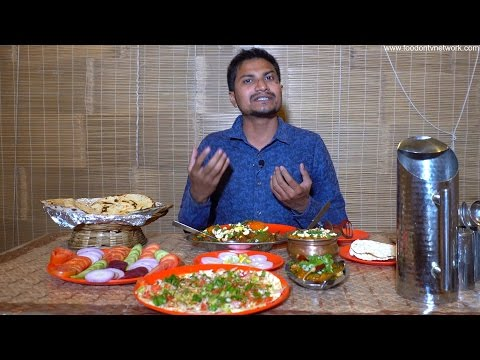 Indian Food Taste Test - Best Kathiyawadi Food in Vadodara, Gujarat By Street Food & Travel TV India