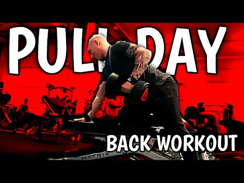 PULL DAY BACK WORKOUT   ROAD TO BODYPOWER 2020