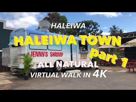 Haleiwa Town Part 1 4/10/2018 [4K] Hawaii