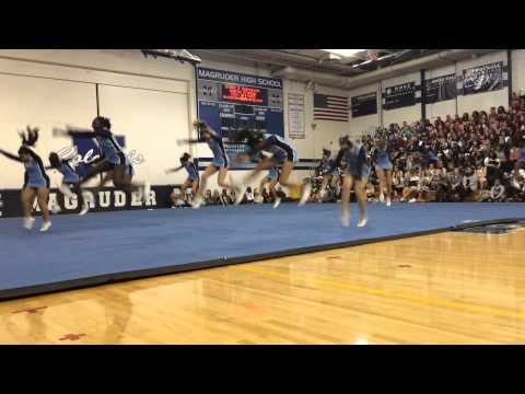 Clarksburg High School- JV cheer expo 2014