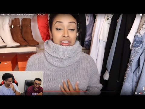 Thumbnail: Liza Koshy | MEETING MY STYLIST!! NAKED WITH CARLOS! | REACTION