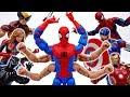 Villains Stole Our Vending Machine~! Go Get Them Six Arm Spider-Man #ToyMartTV