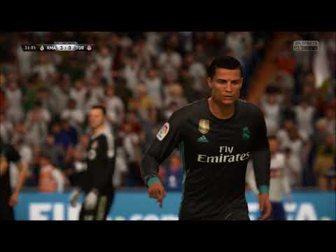 FIFA 18 original Christiano Ronaldo Goal celebration sound !!! (siiiiiii)