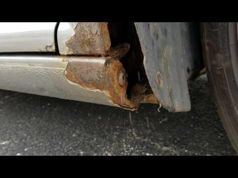Mk 4 VW GTI wheel well rust cause.