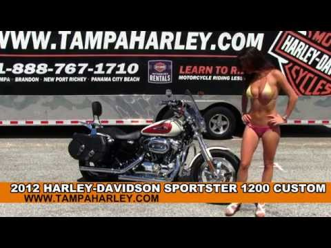 Used 2012 Harley Davidson Sportster 1200 Custom for sale Review Specs