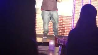 My 1st time doing stand up
