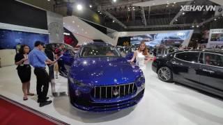 """[XEHAY.VN] Loạt xe Maserati """"đại náo"""" Triển lãm VIMS 2016"""