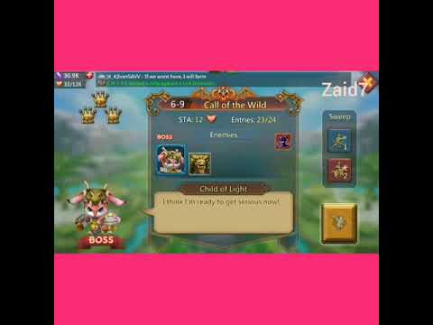 Lords Mobile Elite 6-9 F2p How To 3 Star At Lvl 52