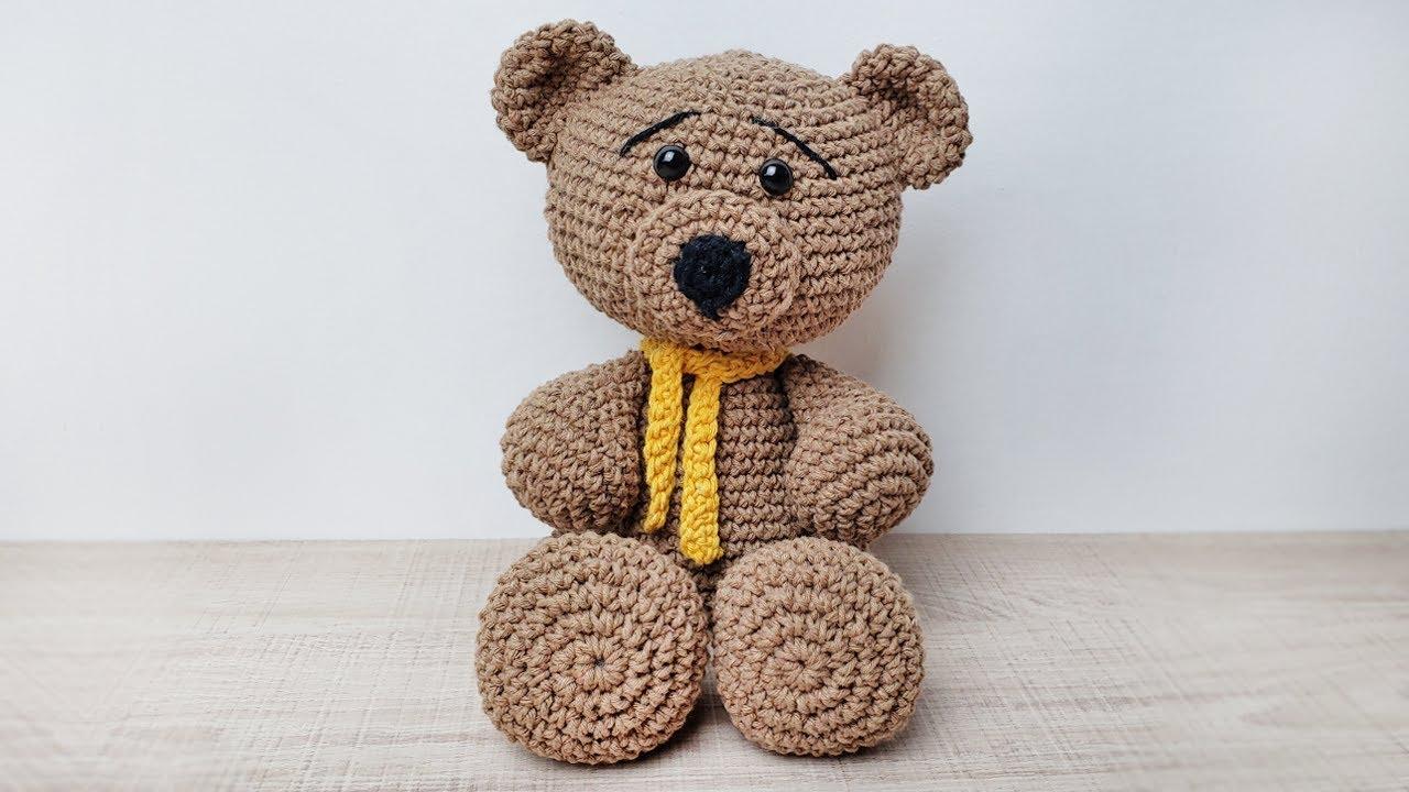 Urso amigurumi Amo que faço. Faça... - Sandra R Arts Amigurumi ... | 720x1280