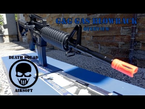 G&G Gas Blowback Review/Gameplay
